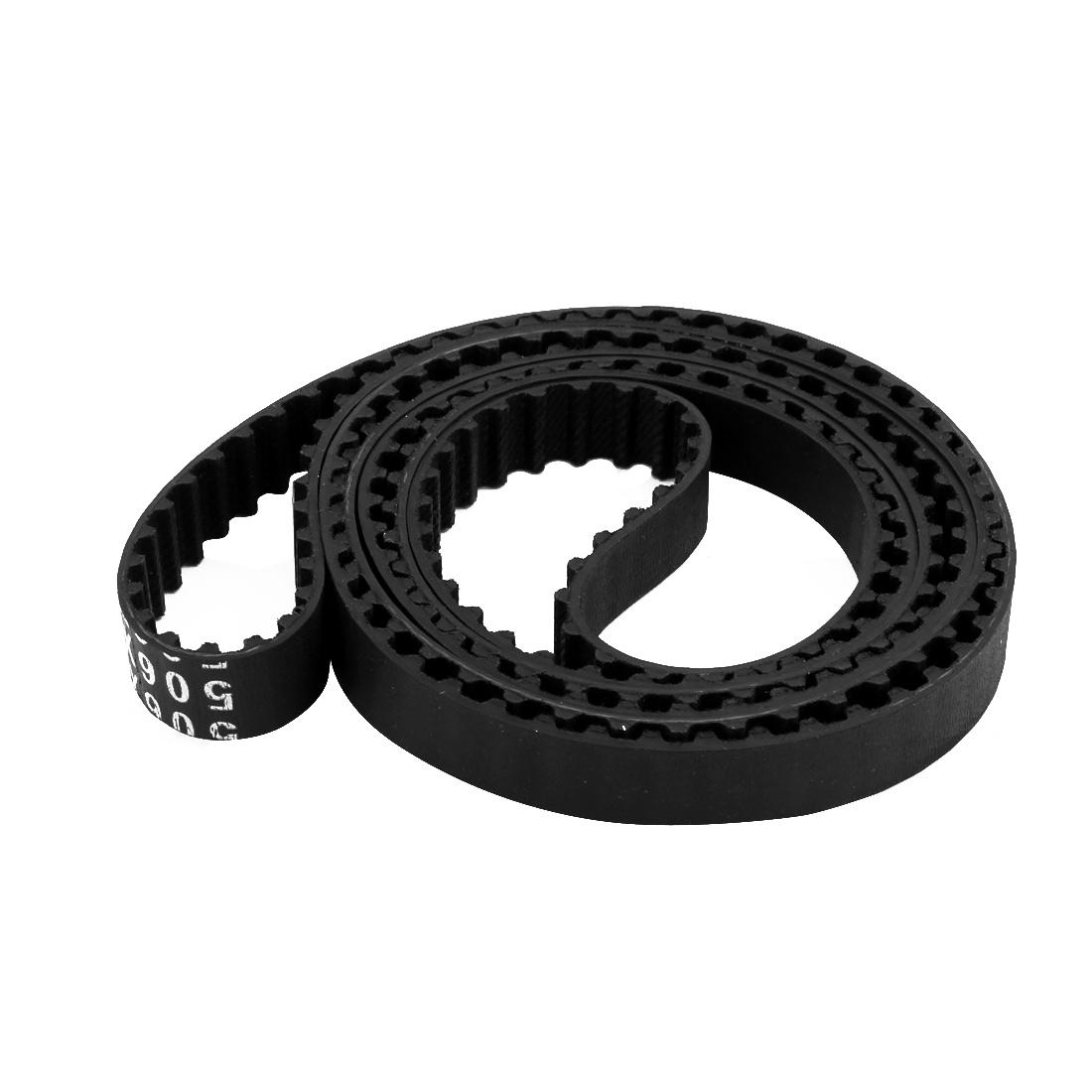 506XL 253 Teeth 10mm Width 5.08mm Pitch Stepper Motor Rubber Timing Geared Belt