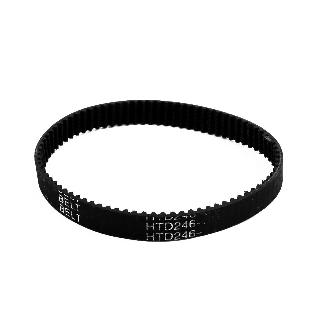 100XL 50 Teeth 10mm x 5.08mm Rubber Timing Geared Belt for Stepper Motor Black