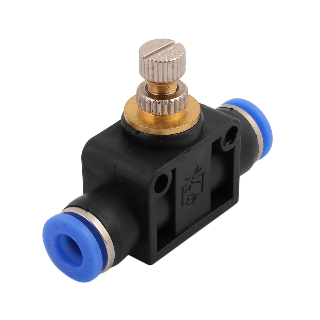 Tube Speed Control Quick Connector Pneumatic Push In Fitting 6mm to 6mm