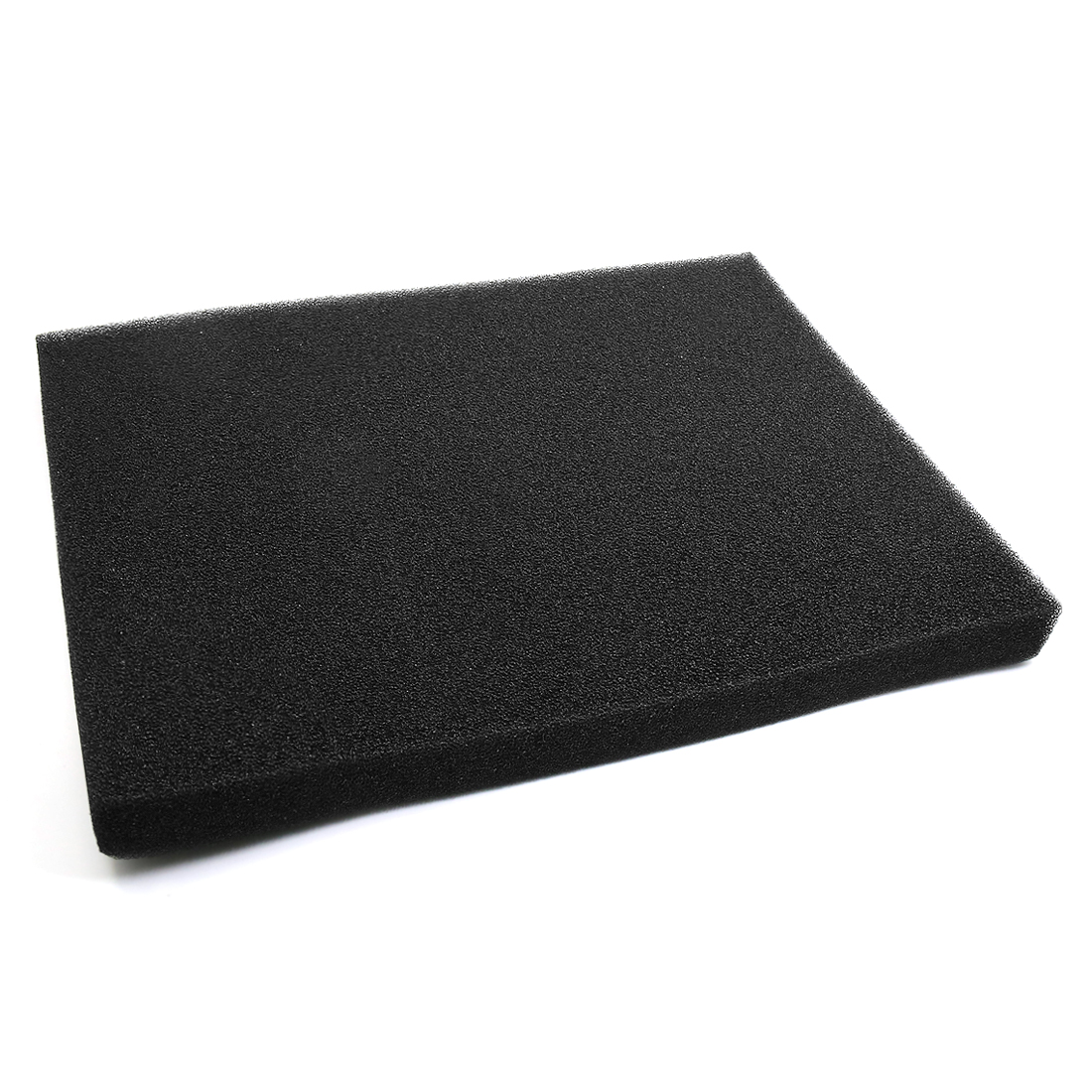 "Black Rectangular Bio Absorbent Filter Sponge for Betta Aquarium 23.6"" x 17.7"""