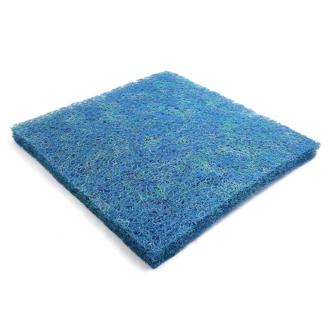 "Blue Bio Chemical Mat Pre-Filter Sponge Pad for Aquarium Kio Pond 19.7""x19.7"""