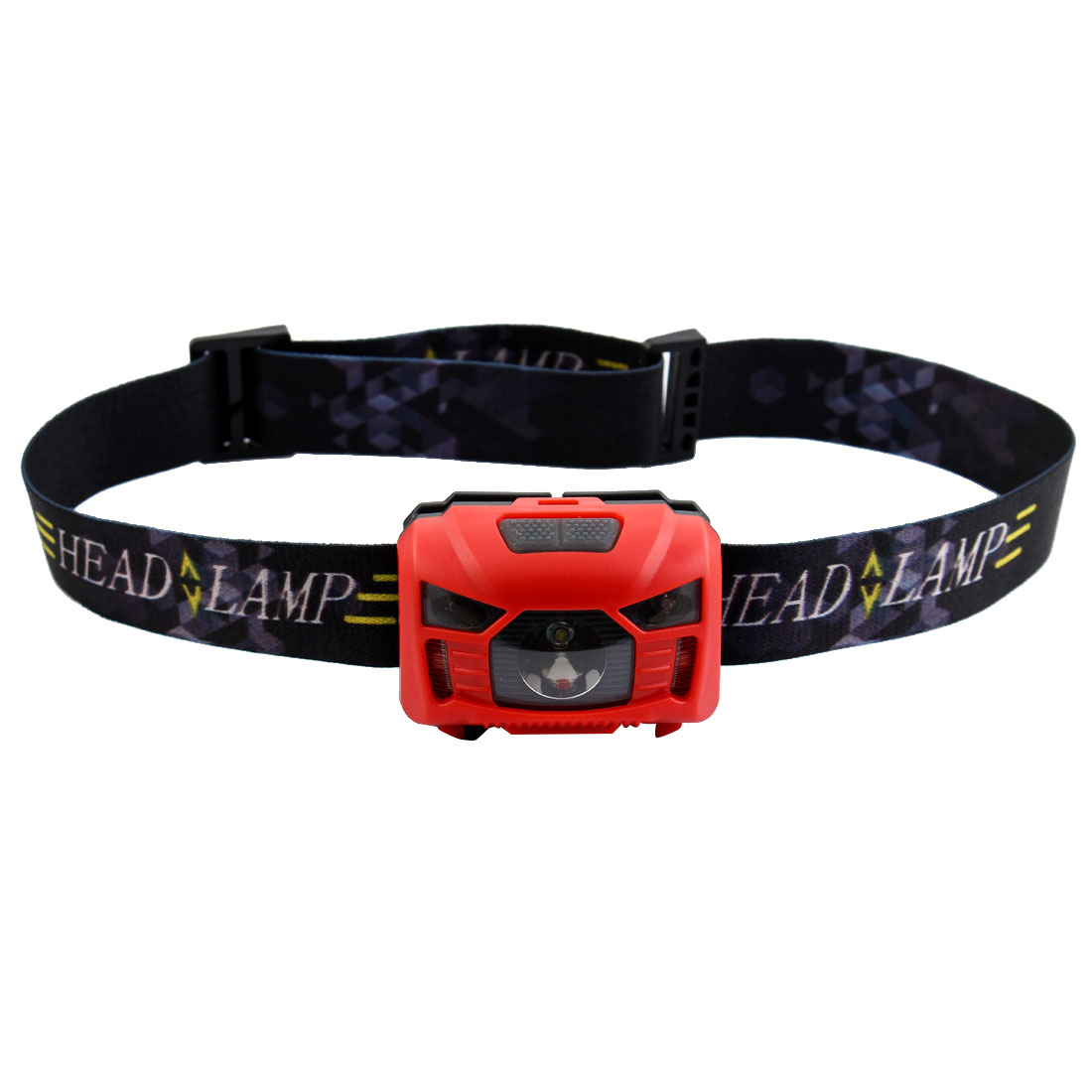 Outdoor Travel Hiking Camping LED Head Lamp Cycling Biking Headlamp Portable Headlight Red
