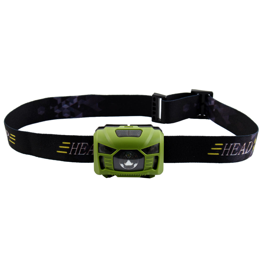 Outdoor Travel Hiking Camping LED Head Lamp Cycling Biking Headlamp Portable Headlight Green