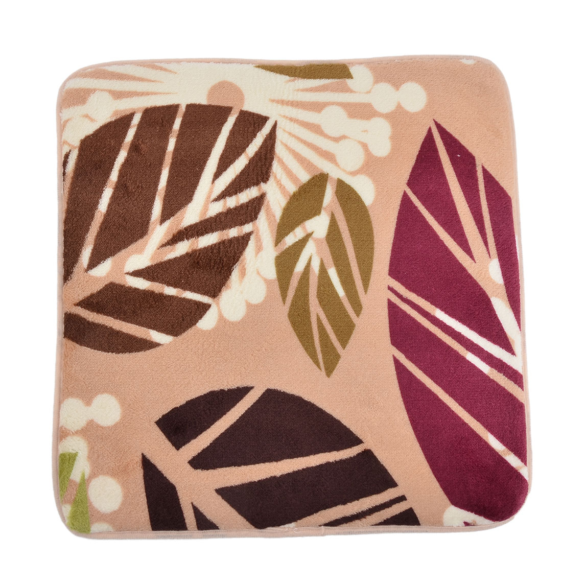 Family Living Room Coral Velvet Soft Chair Seat Decor Pad Cushion 41cm x 40cm