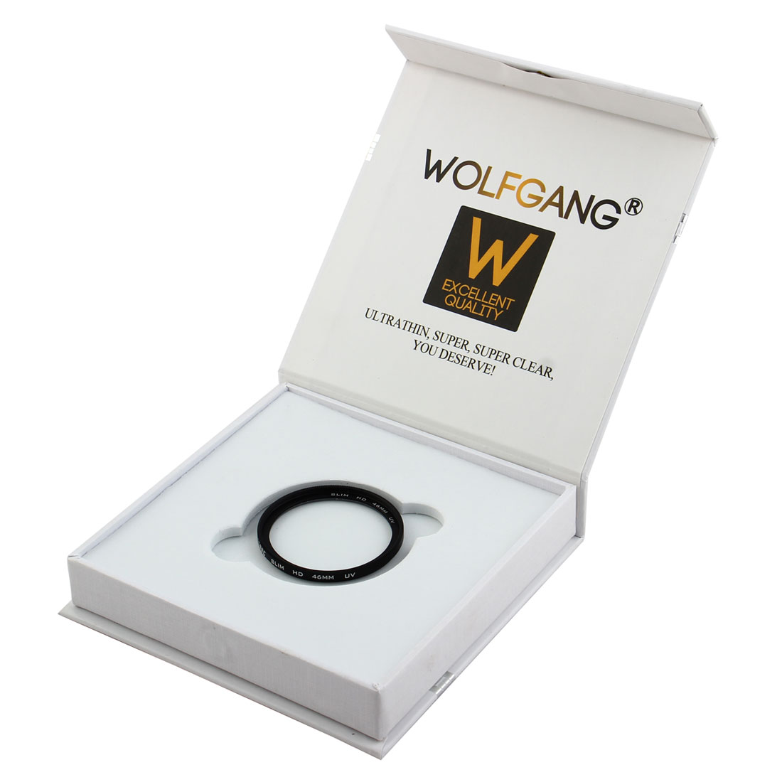 WOLFGANG Authorized 46mm Ultraviolet HD UV Filter Lens Protector for Digital Camera