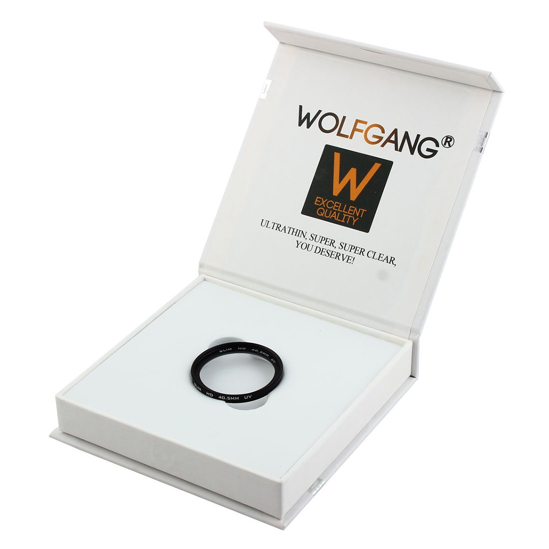 WOLFGANG Authorized 40.5mm Ultraviolet HD UV Filter Lens Protector for Digital Camera