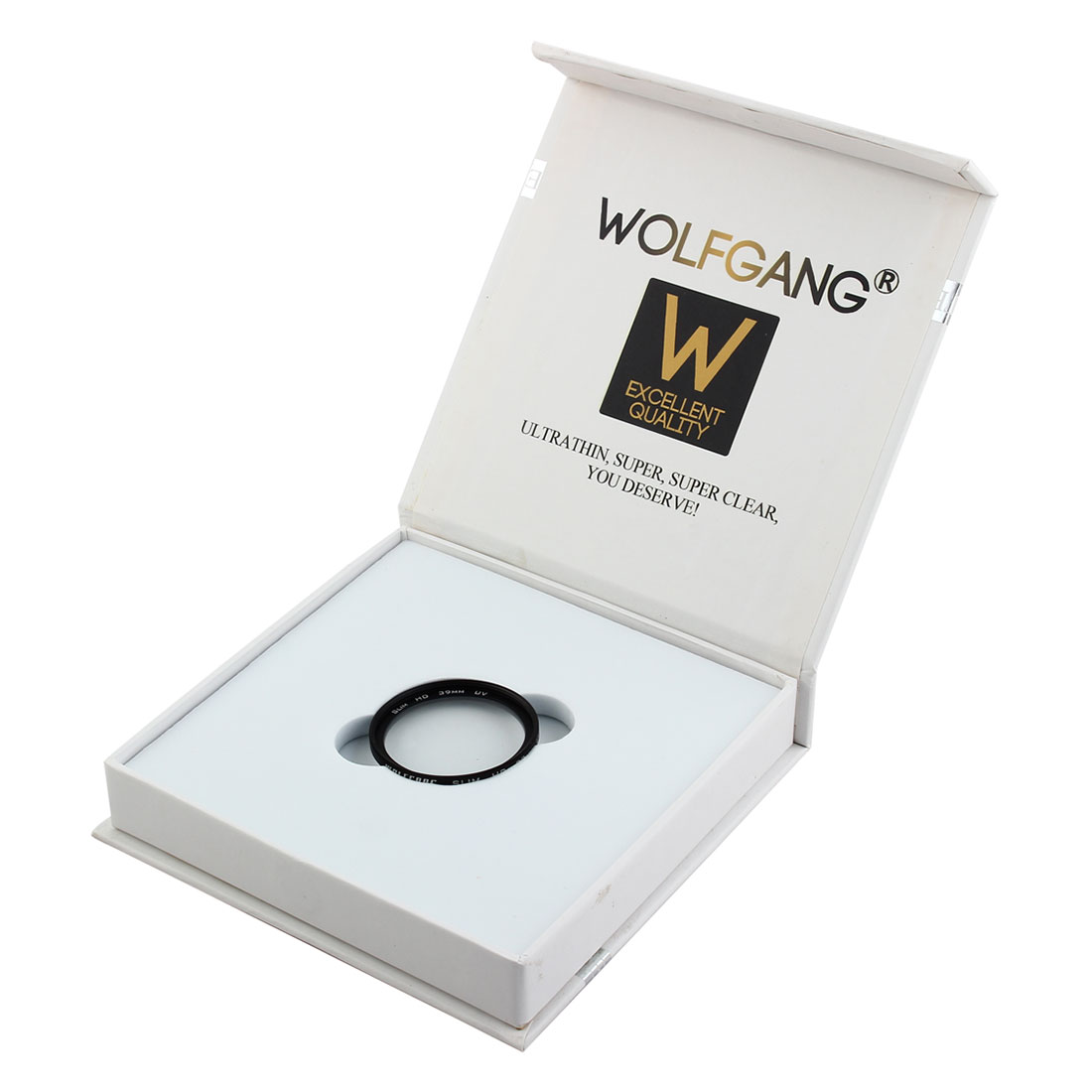 WOLFGANG Authorized 39mm Ultraviolet HD UV Filter Lens Protector for Digital Camera