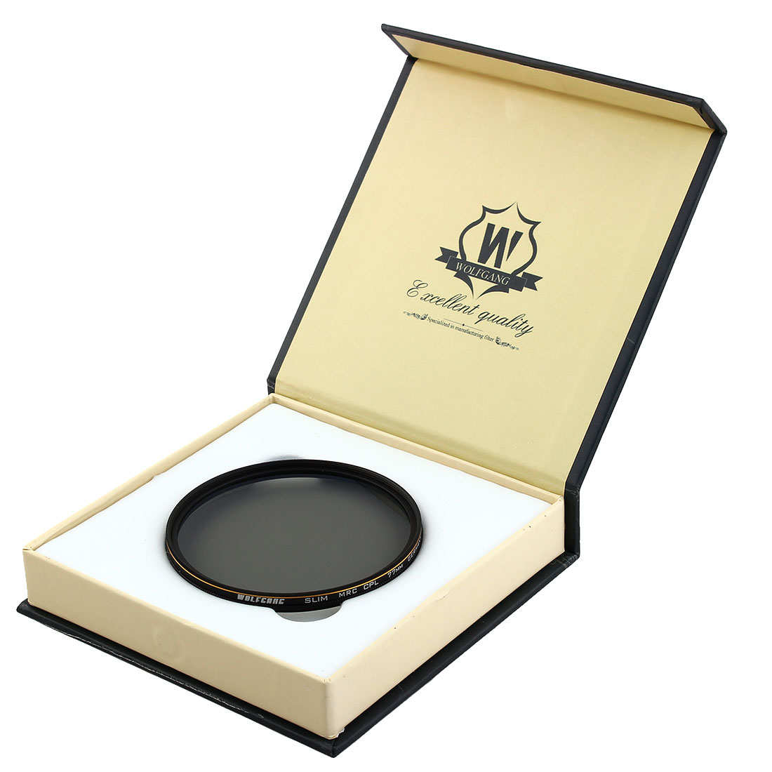 WOLFGANG Authorized Universal 77mm Multi Coated MC CPL Circular Polarizing Filter for Digital SLR Camera Lens