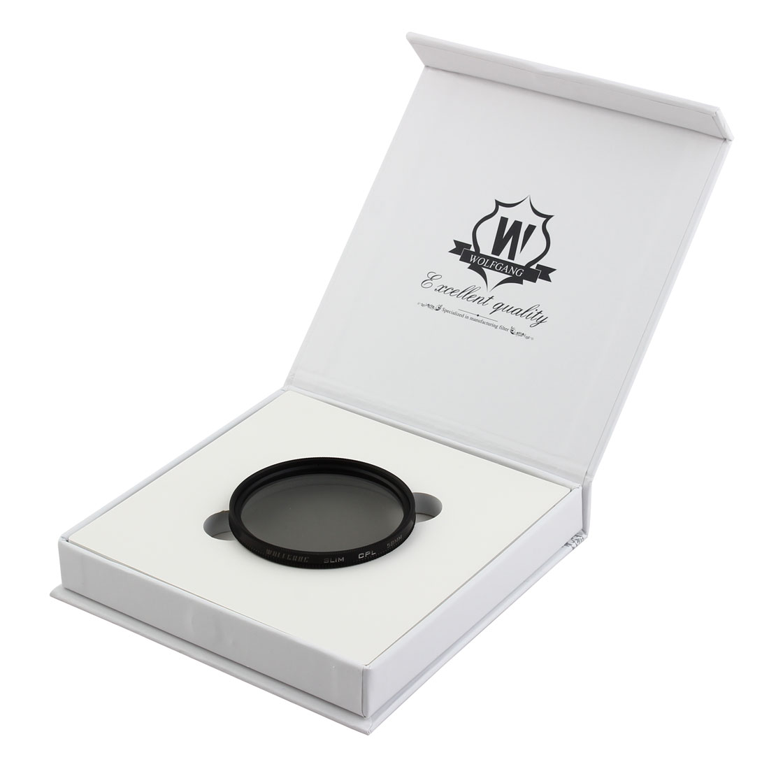 WOLFGANG Authorized 58mm Circular Polarizing CPL Lens Filter Protector for Digital Camera