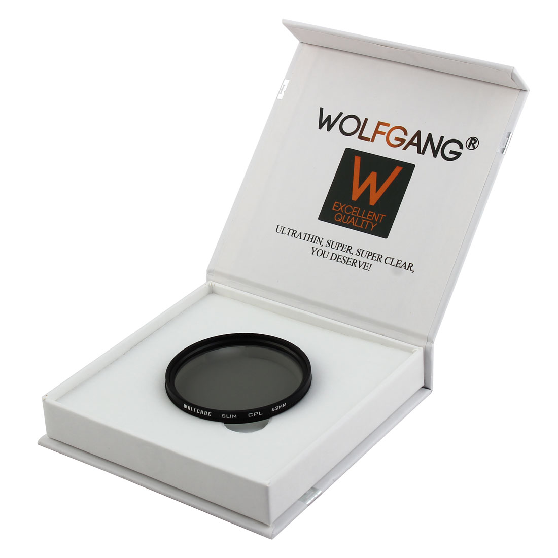 WOLFGANG Authorized 62mm Circular Polarizing CPL Lens Filter Protector for Digital Camera