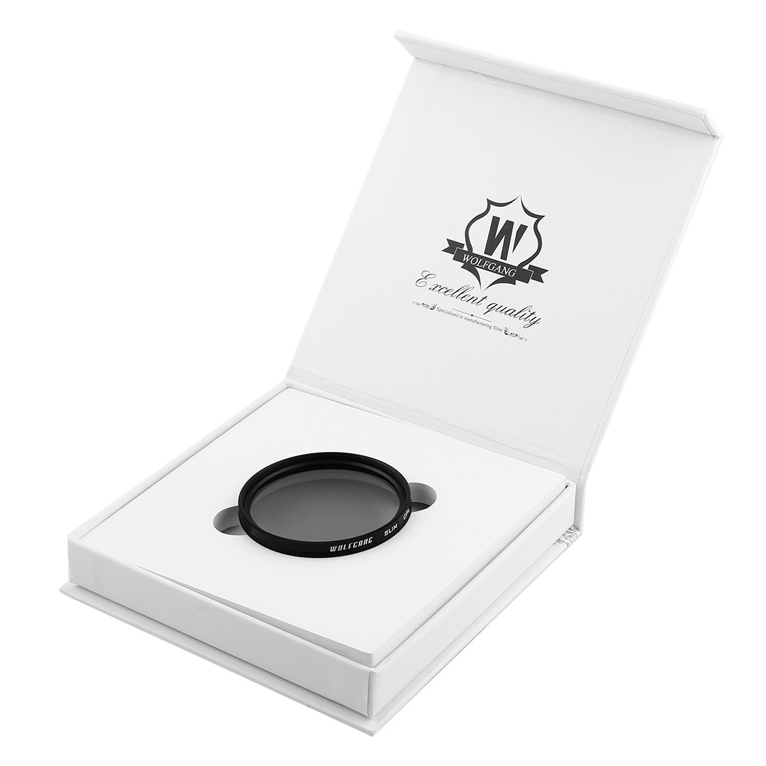 WOLFGANG Authorized 55mm Circular Polarizing CPL Lens Filter Protector for Digital Camera