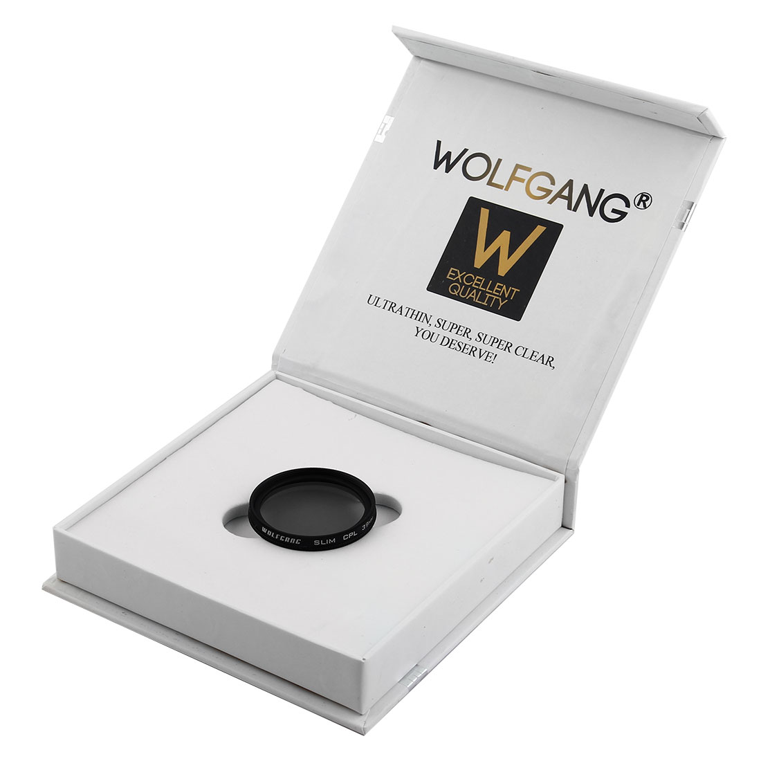 WOLFGANG Authorized 39mm Circular Polarizing CPL Lens Filter Protector for Digital Camera