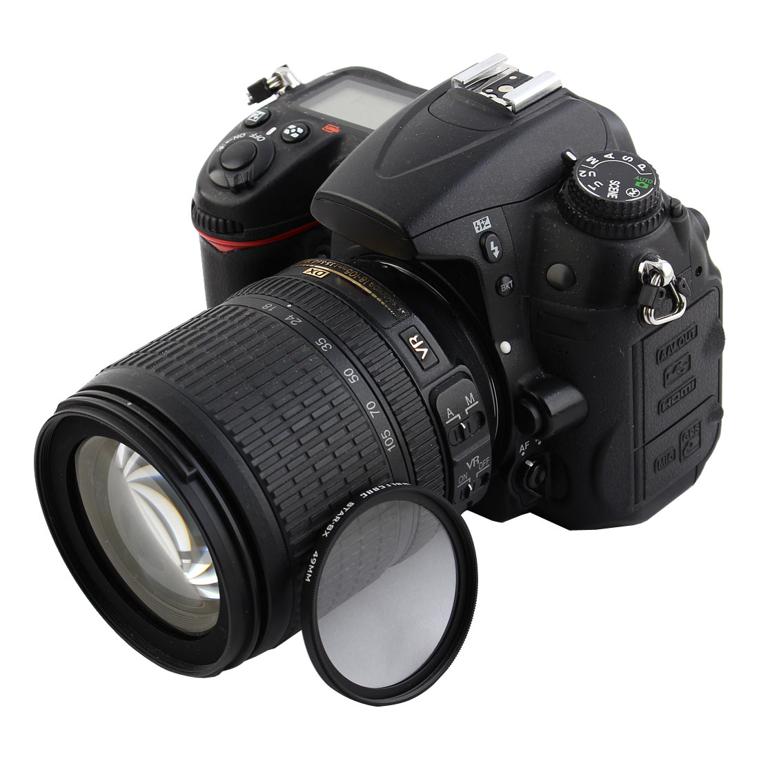 WOLFGANG Authorized Universal 49mm 8x Star-Effect Starburst Twinkle Lens Filter for DSLR Camera