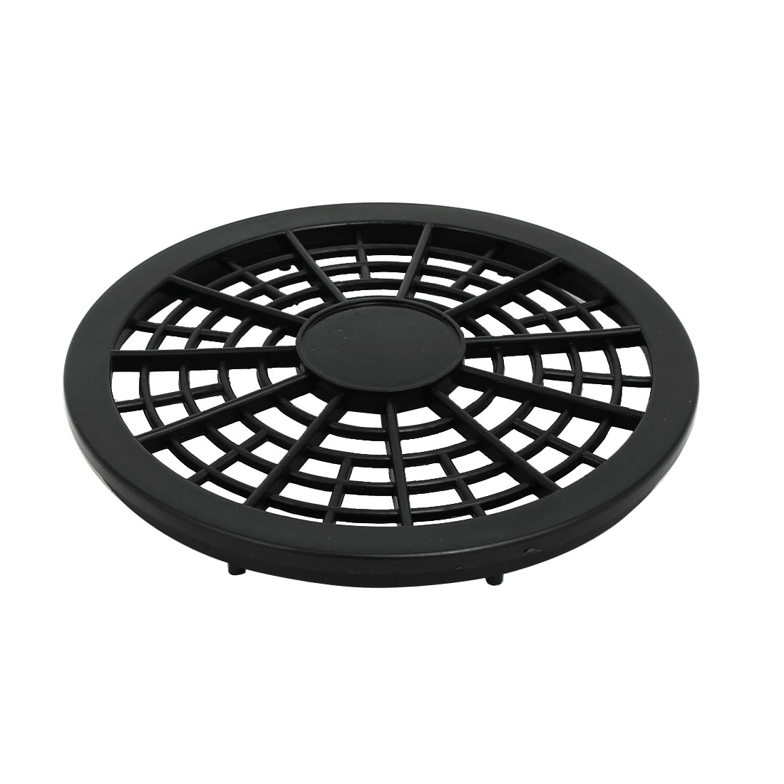 550W/750W 127mm Diameter Plastic Air Compressor Replacement Fan Cover Black