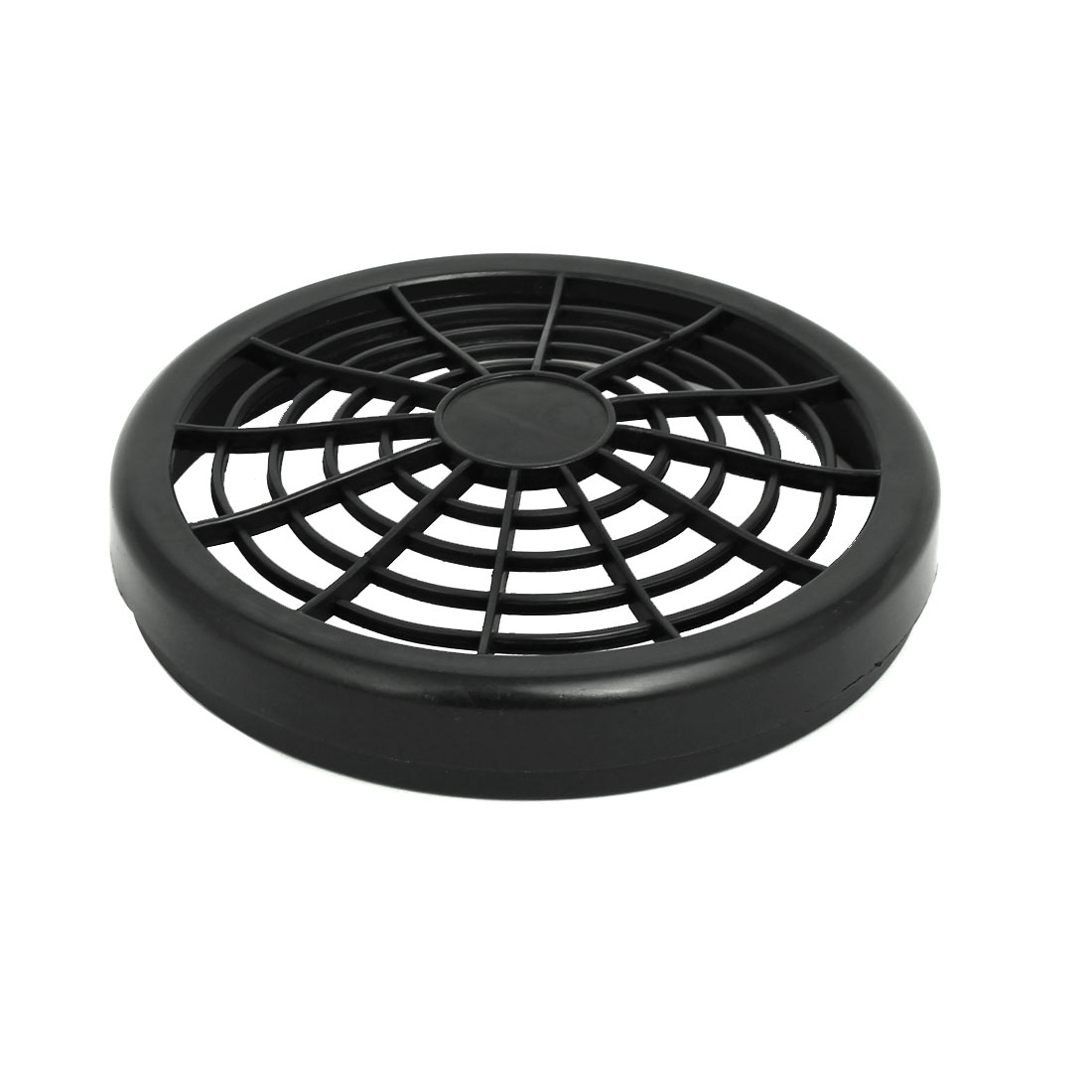 1100W/1500W 155mm Diameter Plastic Air Compressor Replacement Fan Cover Black