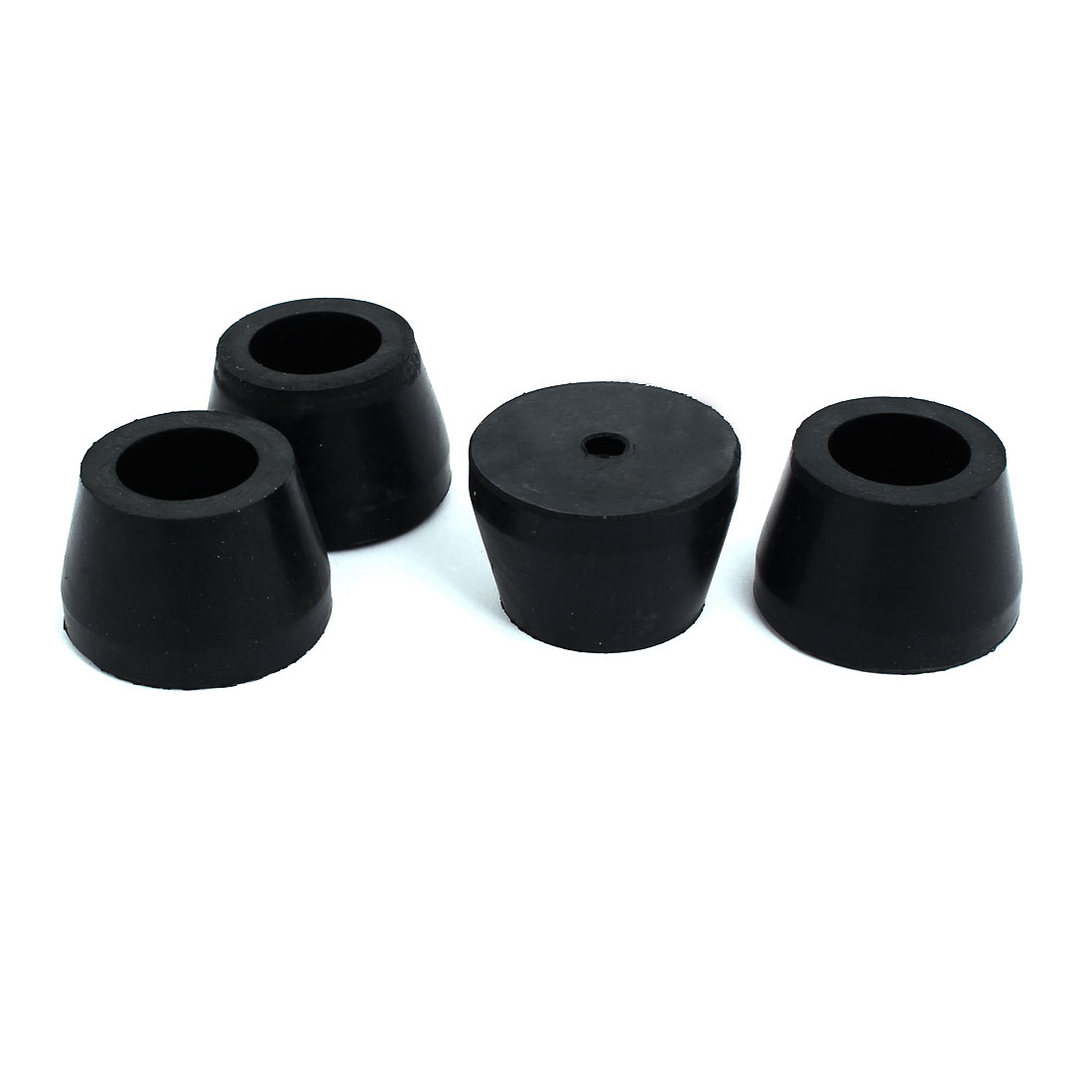 45mmx29mm Air Compressor Replacement Foot Pad Black 4pcs