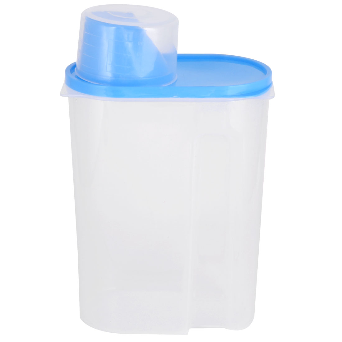 Household Plastic Food Bean Peanut Nut Sugar Cookies Storage Container Clear