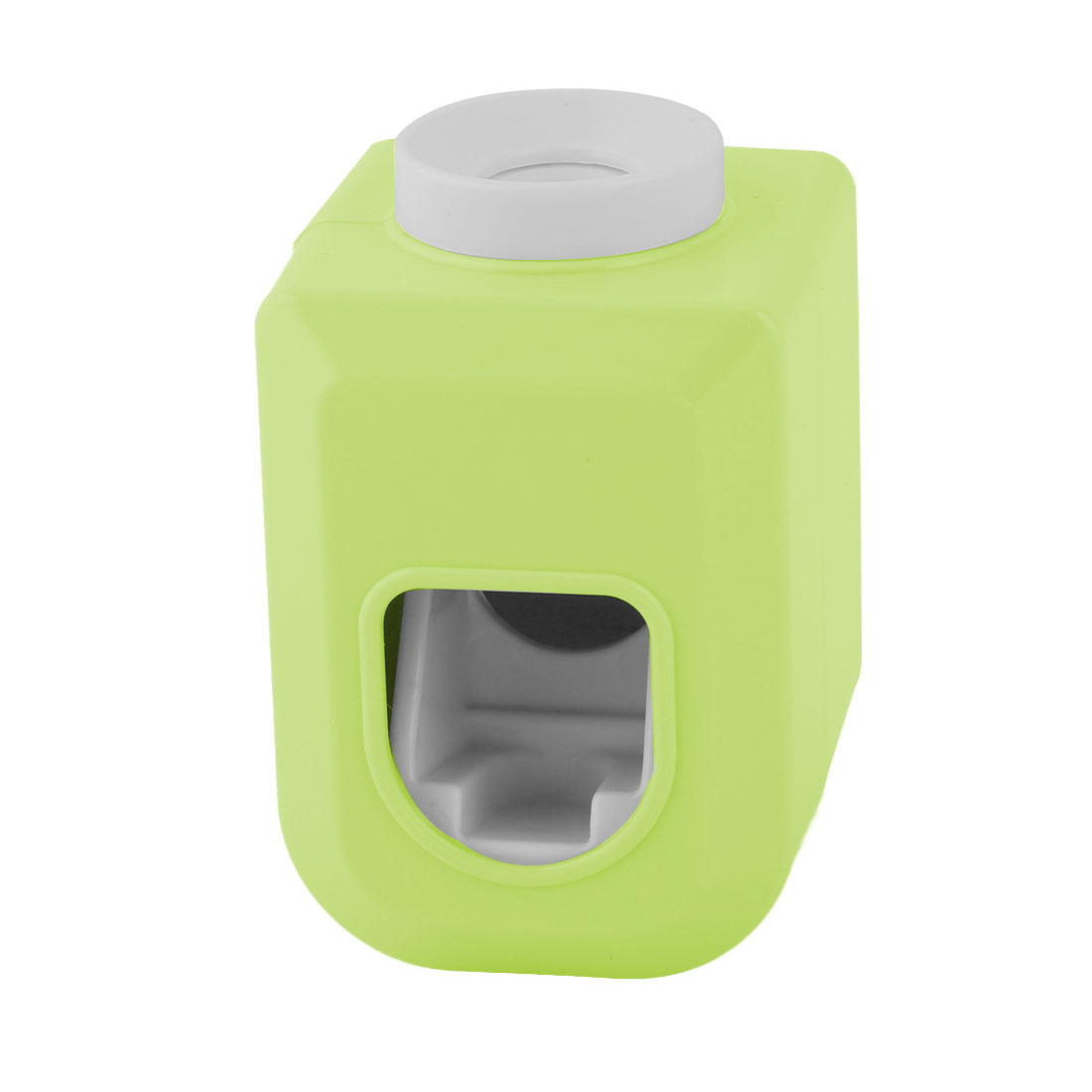 Household Bathroom Plastic Wall Sticker Pad Automatic Toothpaste Dispenser Green