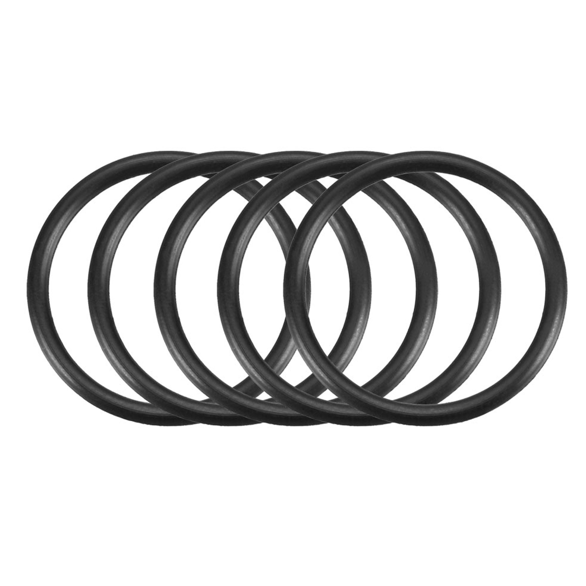 50Pcs 26mm x 1.9mm Black Flexible Nitrile Rubber O Ring Oil Seal Washer Grommets
