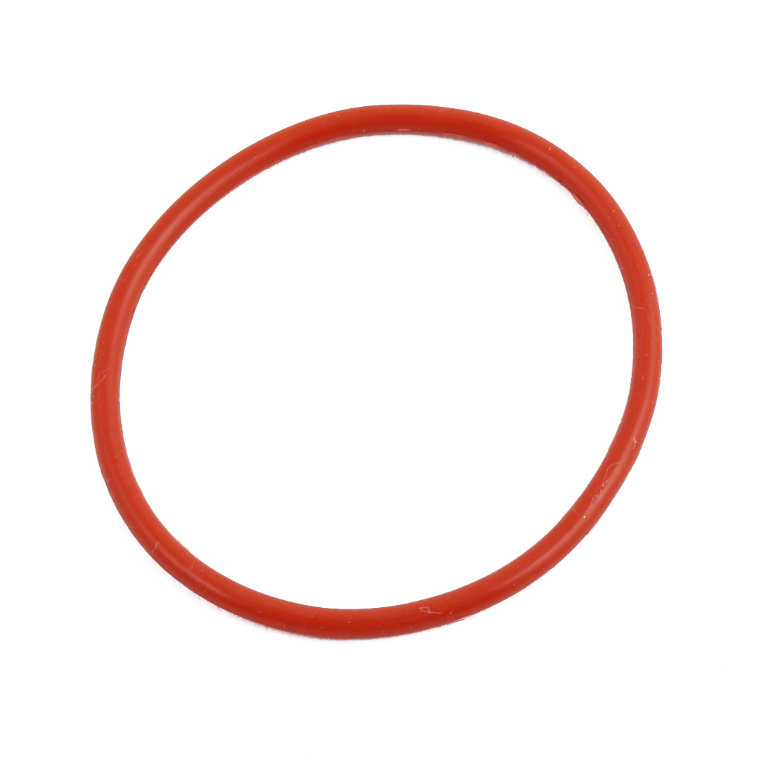 Red Round Nitrile Butadiene Rubber NBR O-Ring 40mm OD 1.9mm Width