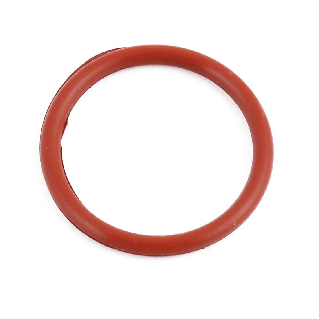 Red Round Nitrile Butadiene Rubber NBR O-Ring 22mm OD 1.9mm Width
