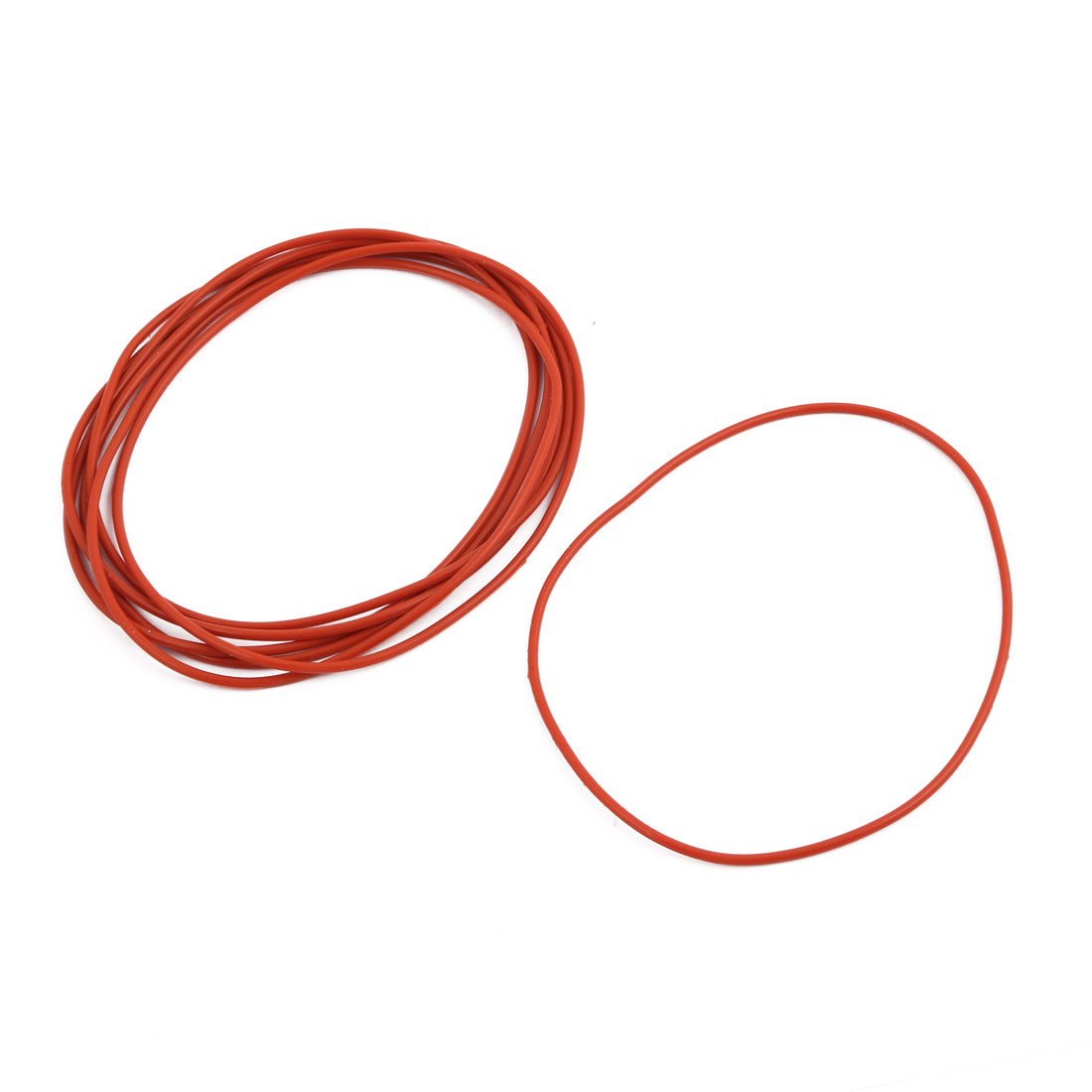 10Pcs Red Round Nitrile Butadiene Rubber NBR O-Ring 90mm OD 1.9mm Width