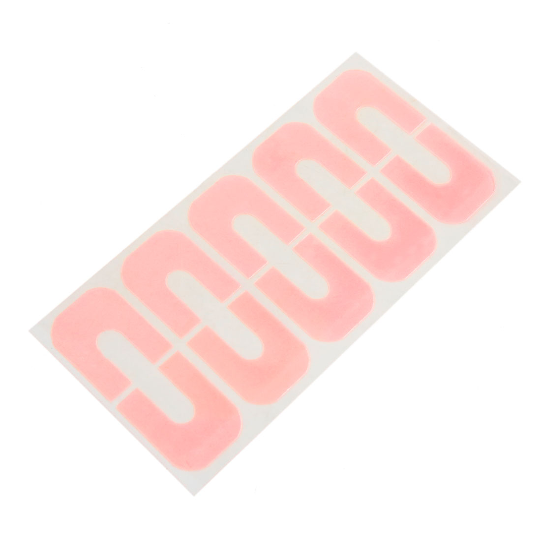 10pcs Pink Nail Polish Protector Spill-Resistant Stencil Stickers Manicure Tape