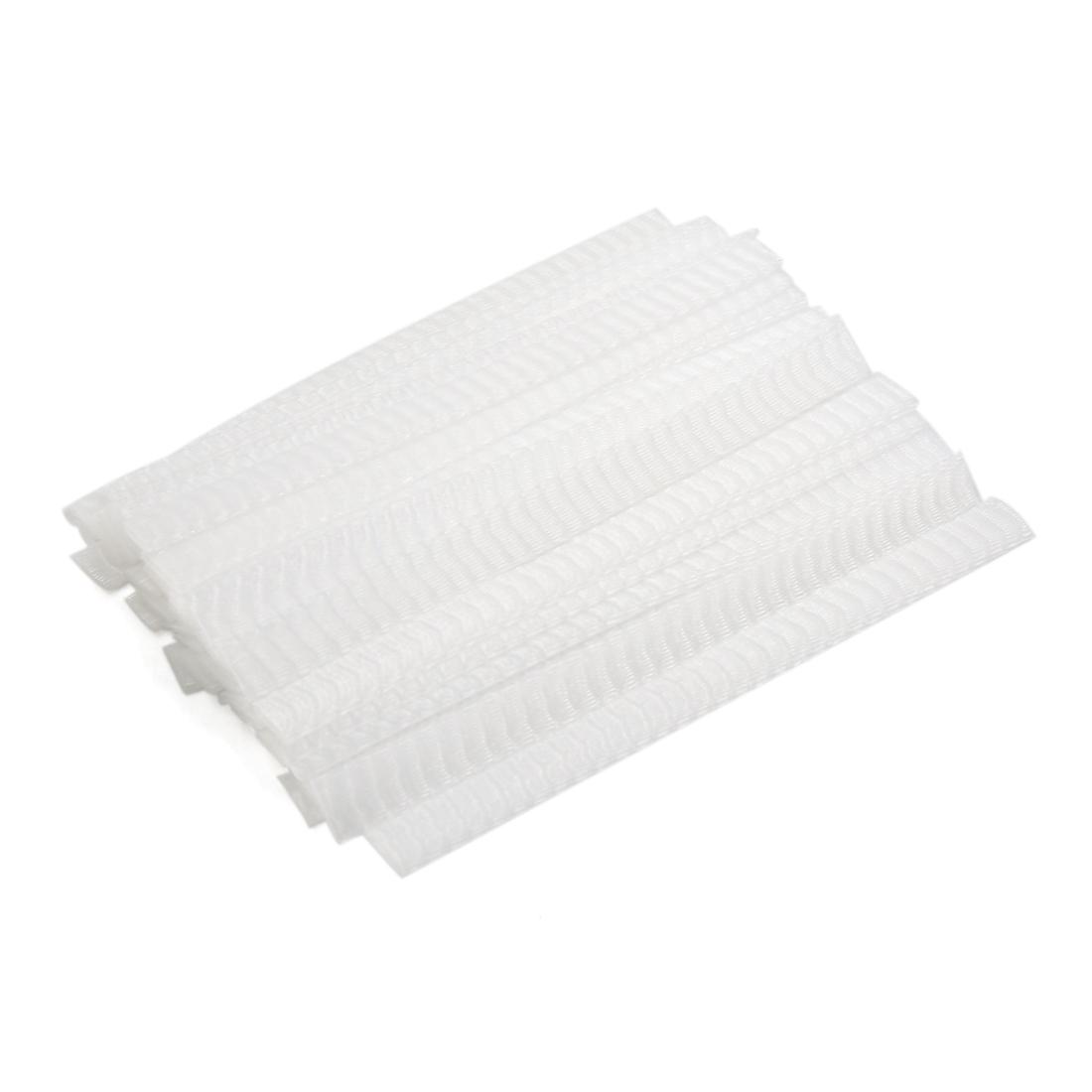 40pcs Elastic Cosmetic Make Up Brush Pen Netting Cover Mesh Sheath Protectors