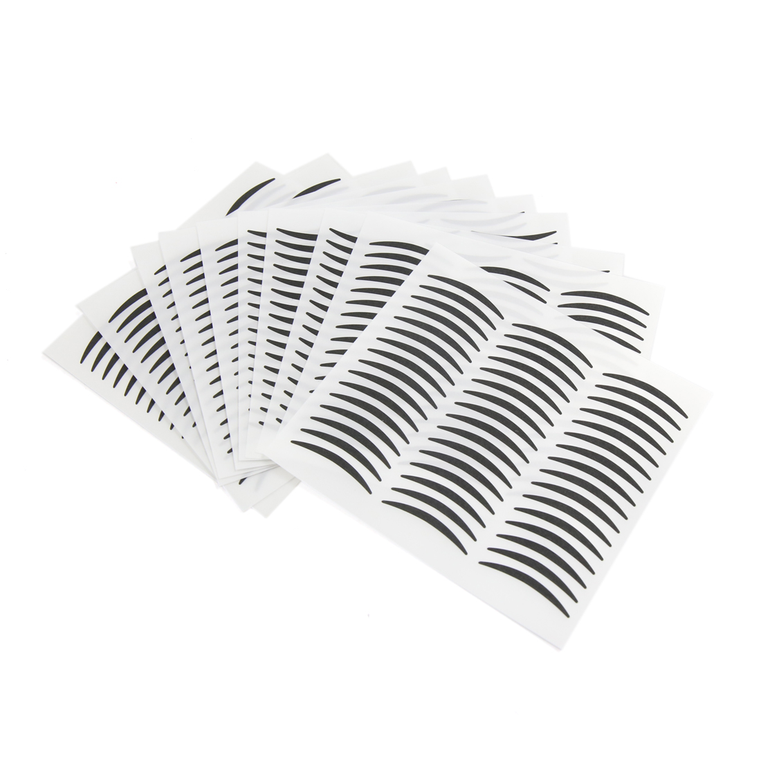 240 Pairs Black Narrow Double Eyelid Sticker Eye Make Up Tapes Cosmetic Tools