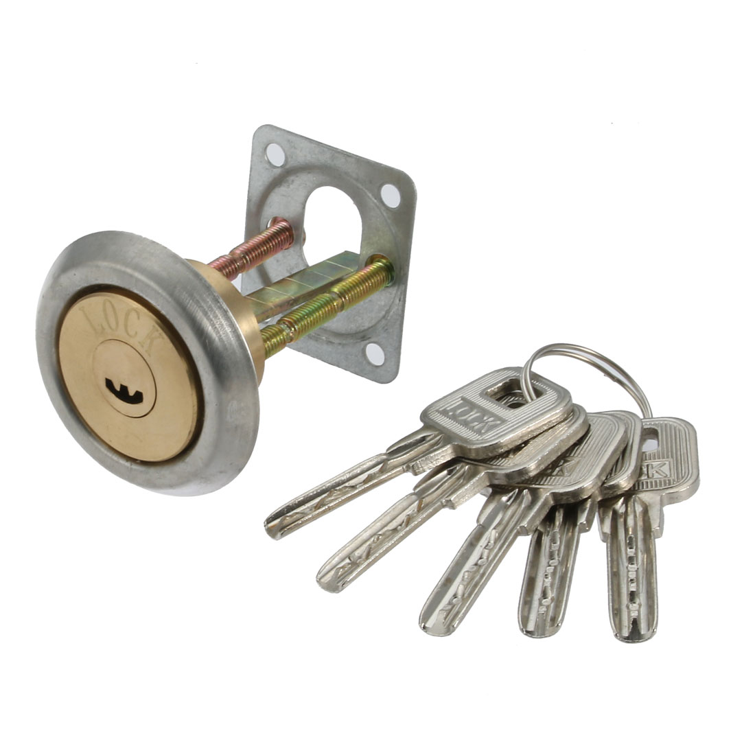 Replacement Rim Cylinder Lock 35mm Long Shaft w Keys