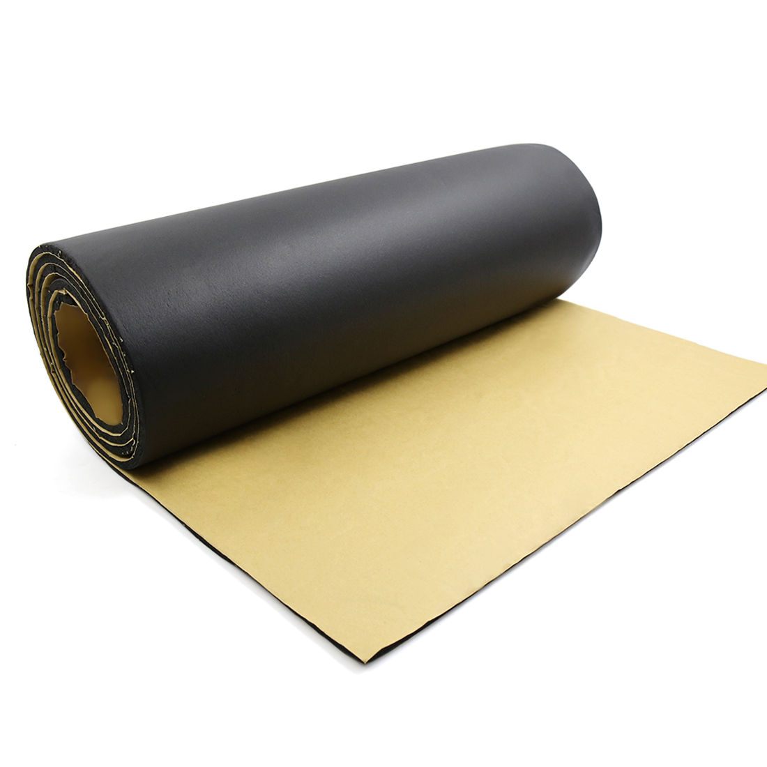 "197mil 5mm 32.29sqft Car Floor Tailgate Sound Insulation Deadener Mat 118"" x 40"""