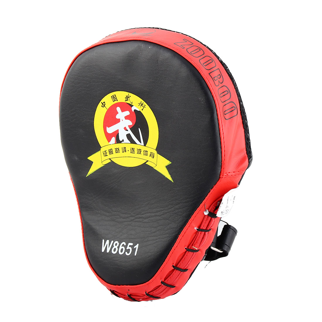 Karate Thai Kick MMA Boxing Punching Mitt Target Focus Pads Strike Shield Red