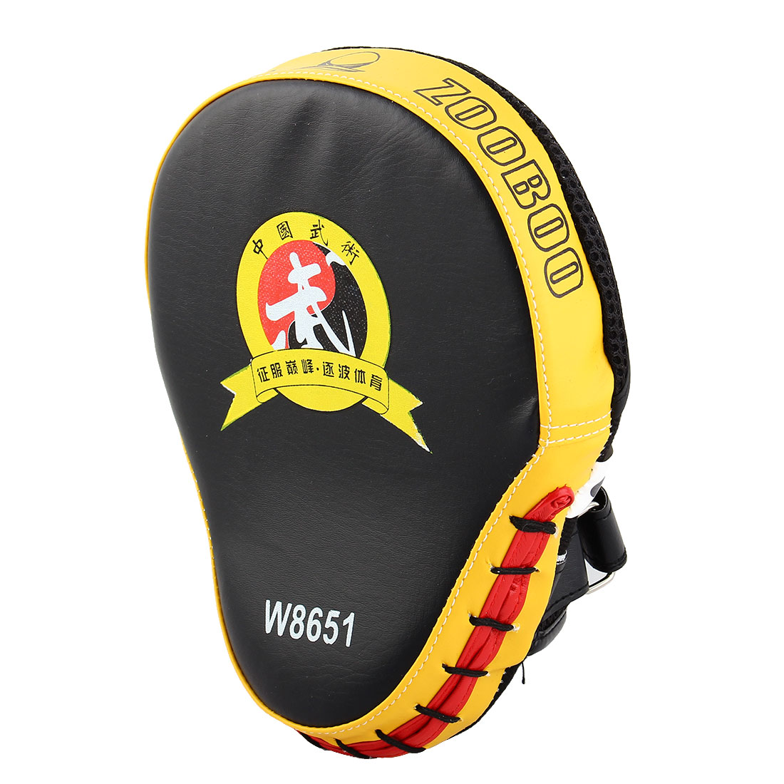 Karate Thai Kick MMA Boxing Punching Mitt Target Focus Pads Strike Shield Yellow