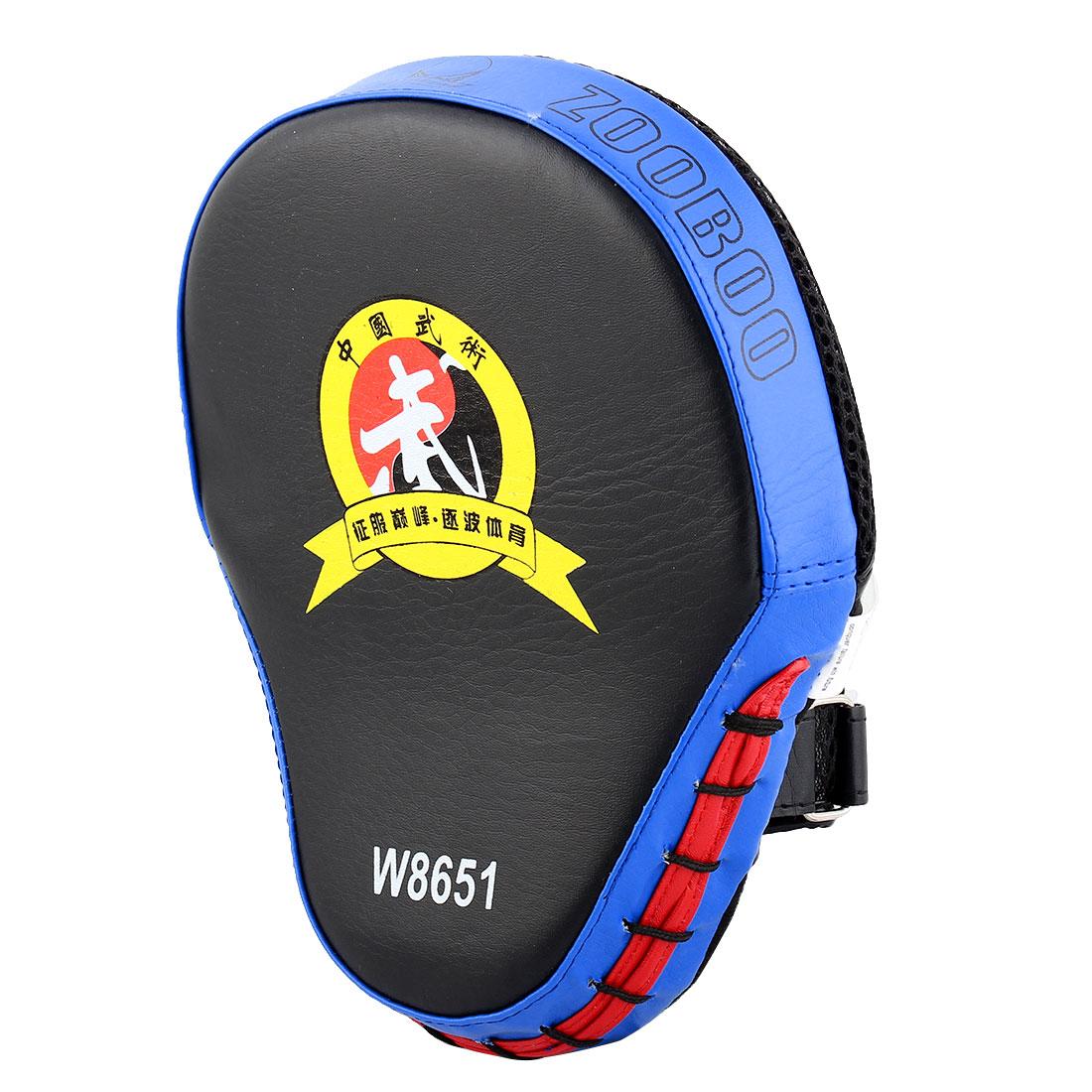 Karate Thai Kick MMA Boxing Punching Mitt Target Focus Pads Strike Shield Blue