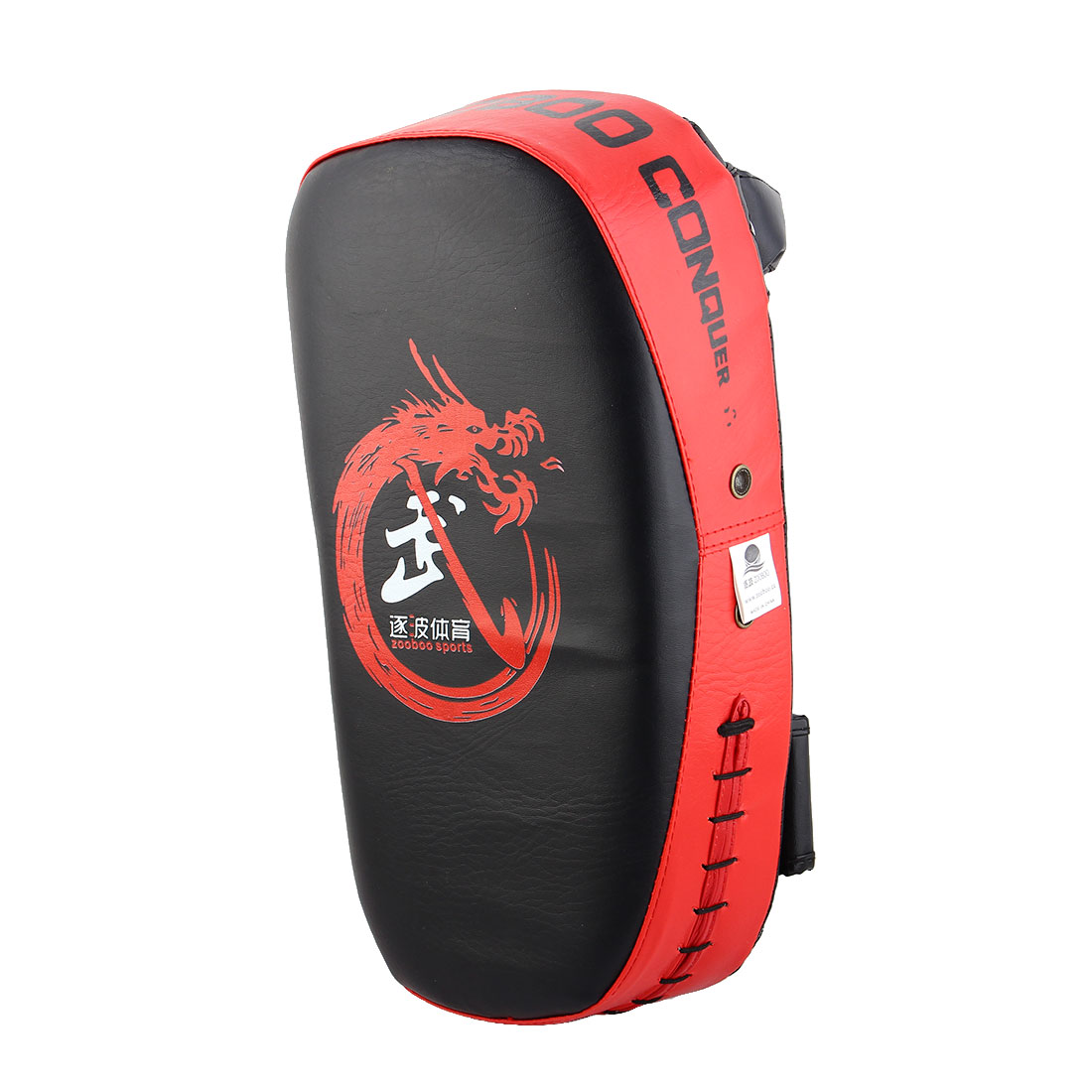 Dragon Pattern Target Punching Kicking Training Single Boxing Thai Pad Red
