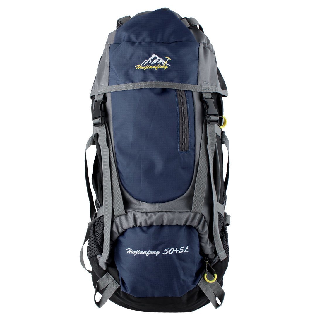 HWJIANFENG Authorized Outdoor Travel Trekking Riding Climbing Mountaineering Pack Water Resistant Sport Bag Hiking Backpack Daypack Dark Blue 55L