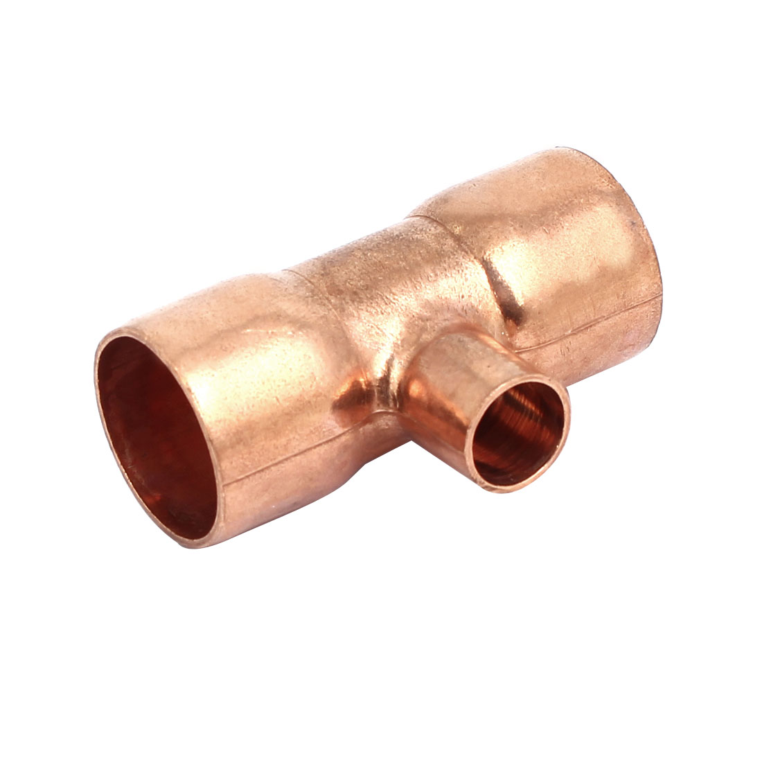 25mmx12.7mm Air Conditioner Copper Tee Joint Seperation Tube Connector