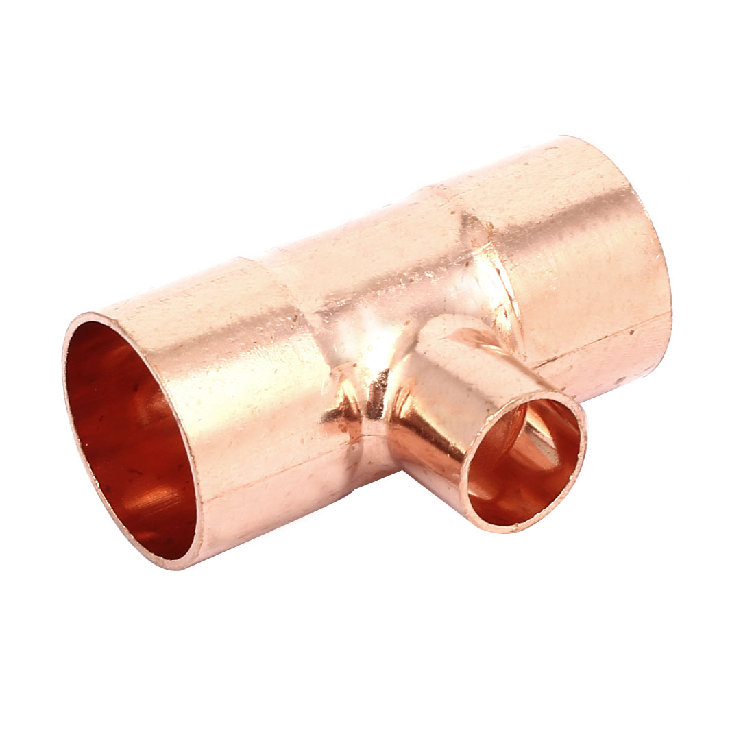 25mmx16mm Copper Tee Reducing Fitting Air Conditioner Plumbing Accessory