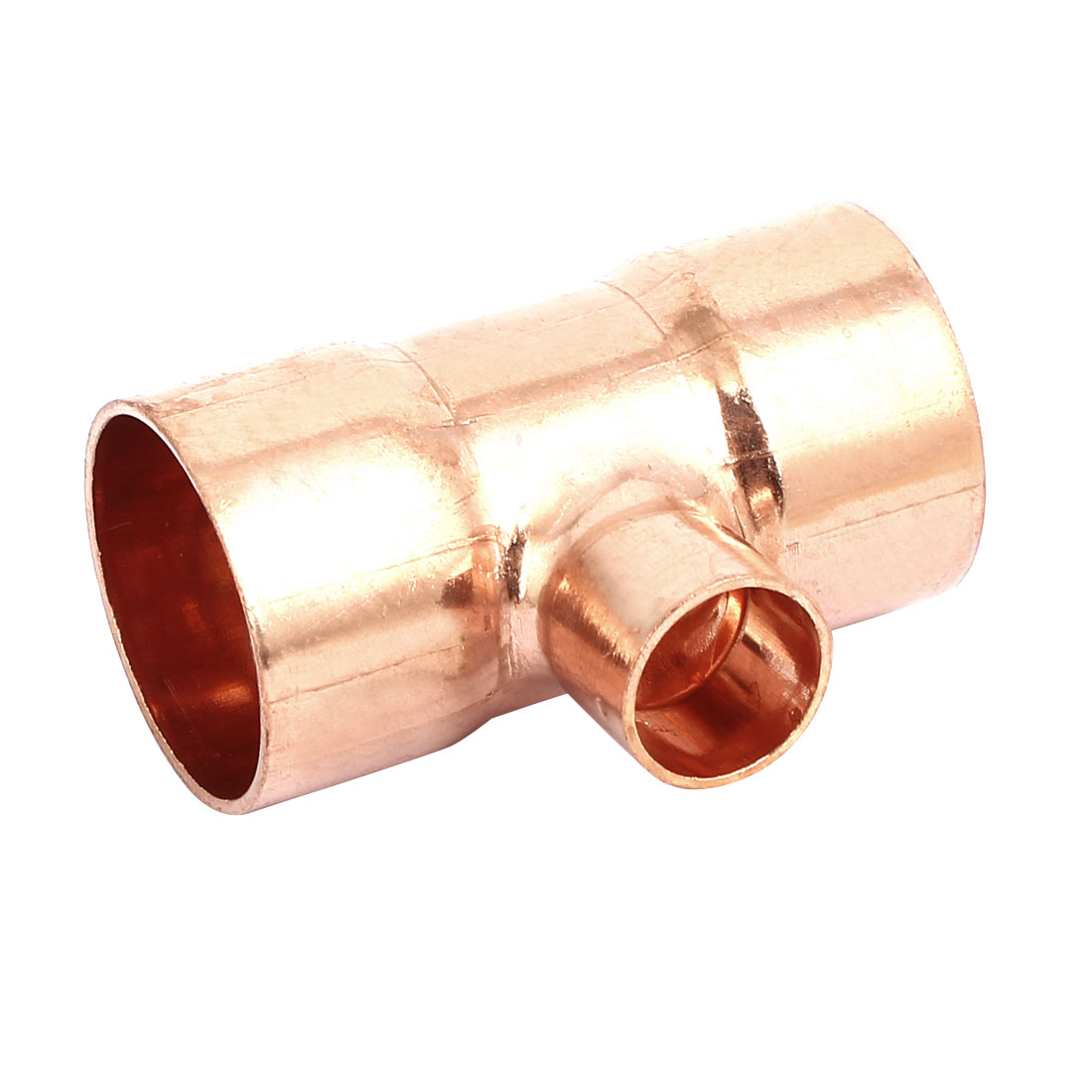 32mmx16mm Air Conditioner Copper Tee Joint Seperation Tube Connector
