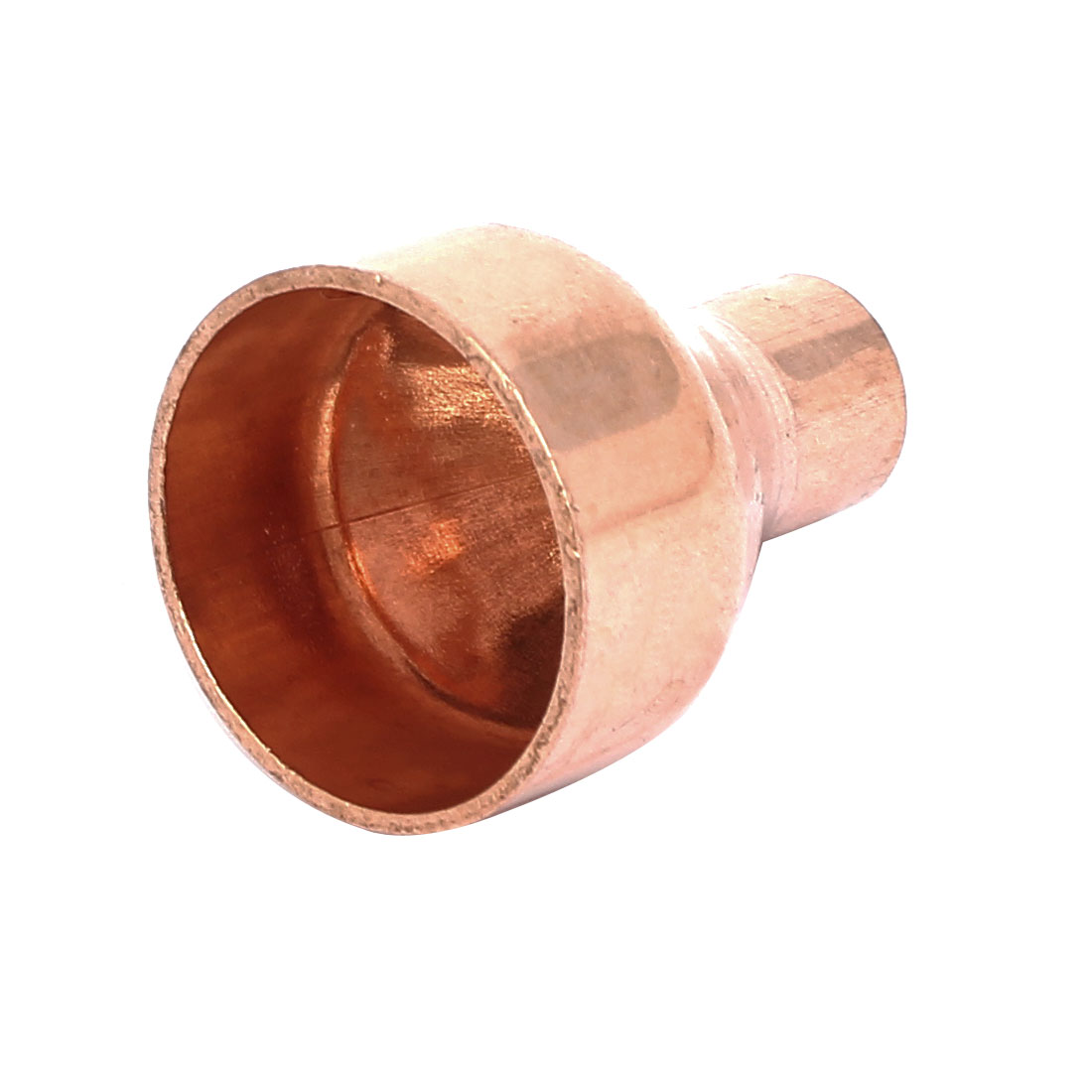 28.6mmx10mm Tube Air Conditioner Copper Reducer Straight Fitting
