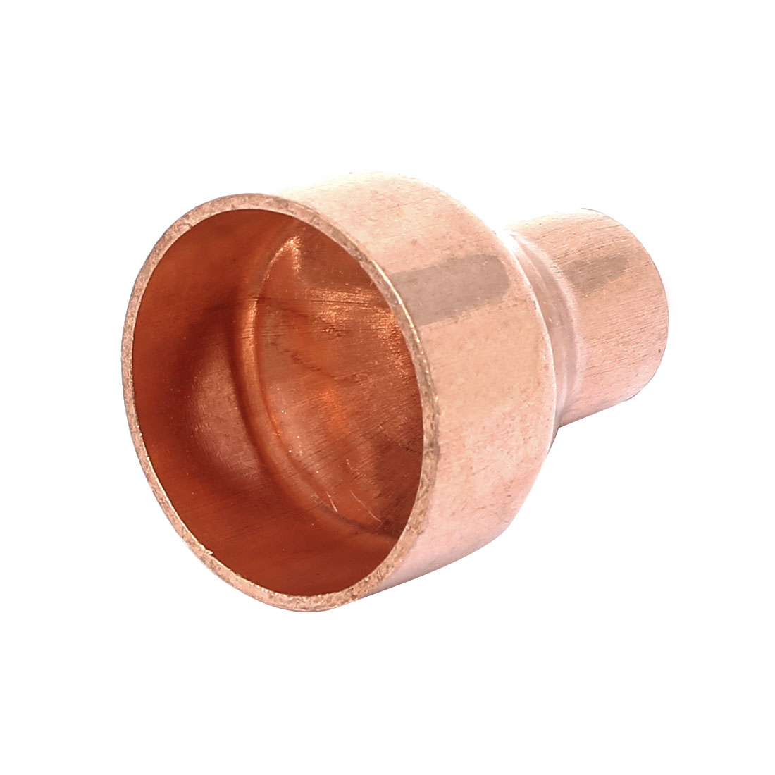 28mmx12.7mm Tube Air Conditioner Copper Reducer Straight Fitting