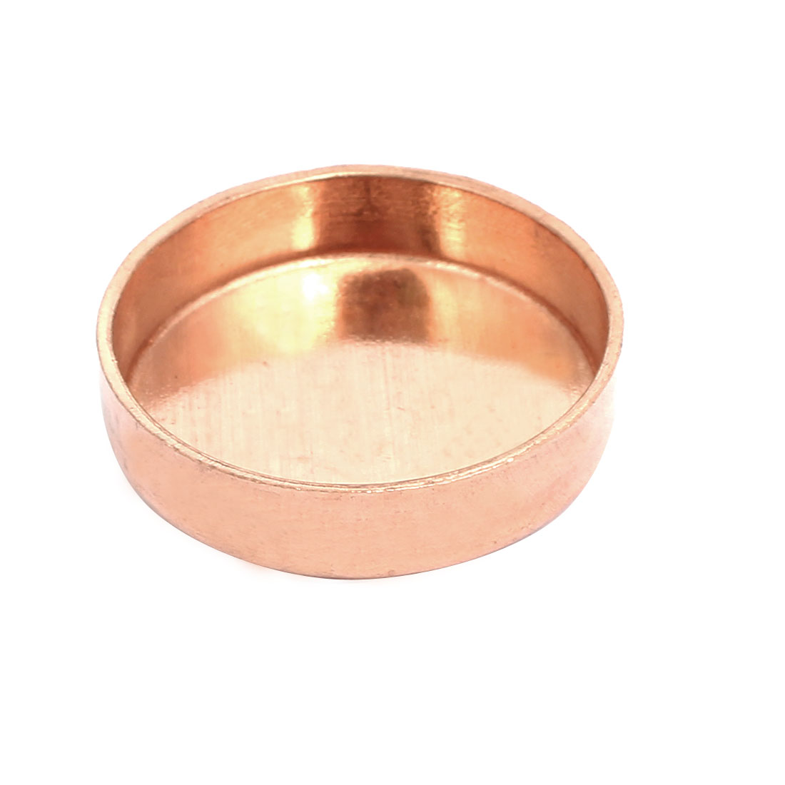 32mm Inner Dia 1.5mm Thickness Copper Pipe End Cap Cover Plumbing Fitting