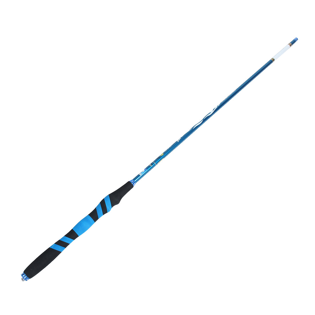 Travel Hiking Carbon Fiber Telescopic Portable Lightweight Fishing Spinning Rod Pole 5.4M Length