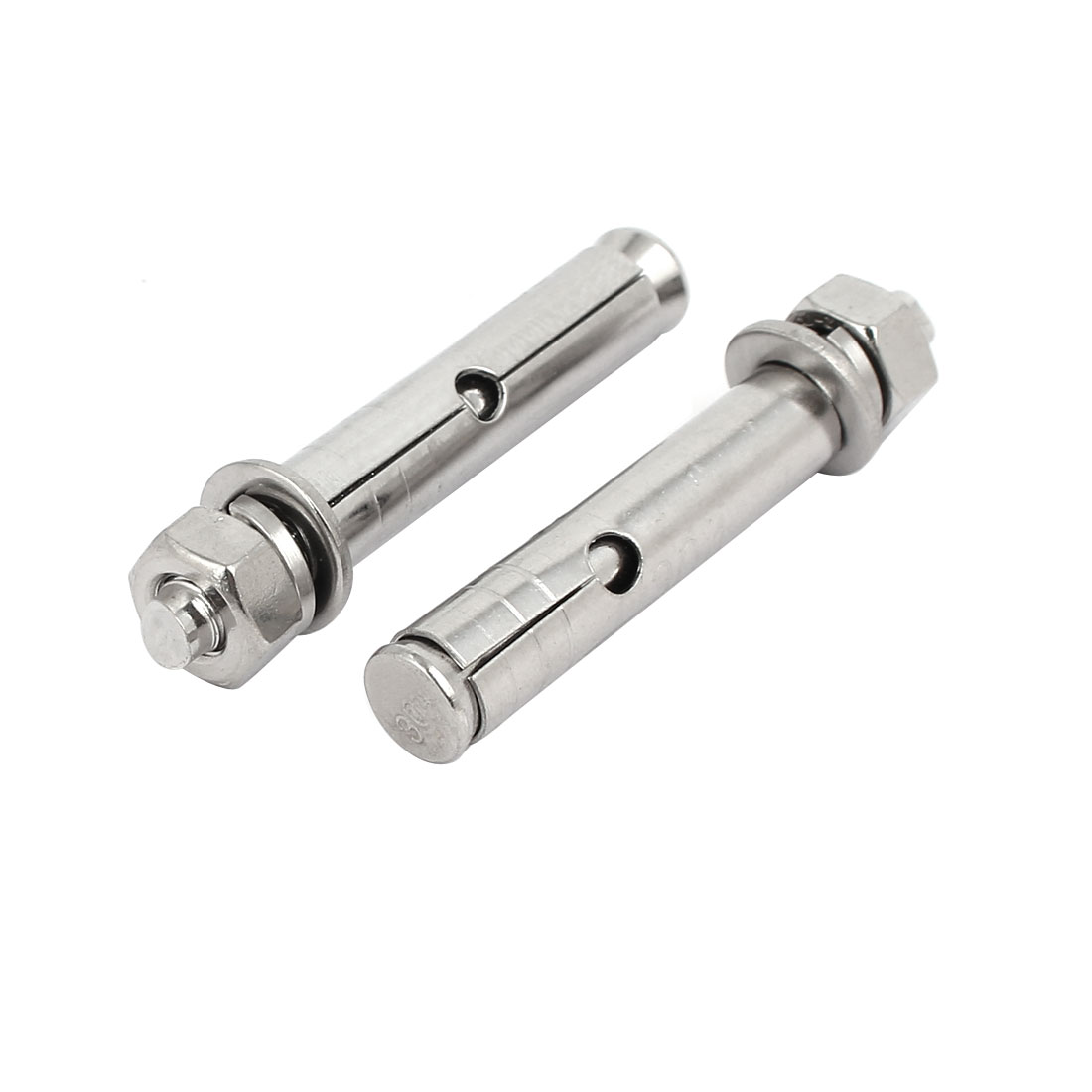 M6x50mm 304 Stainless Steel Air Condition Fitting Sleeve Anchor Expansion Bolt 2pcs
