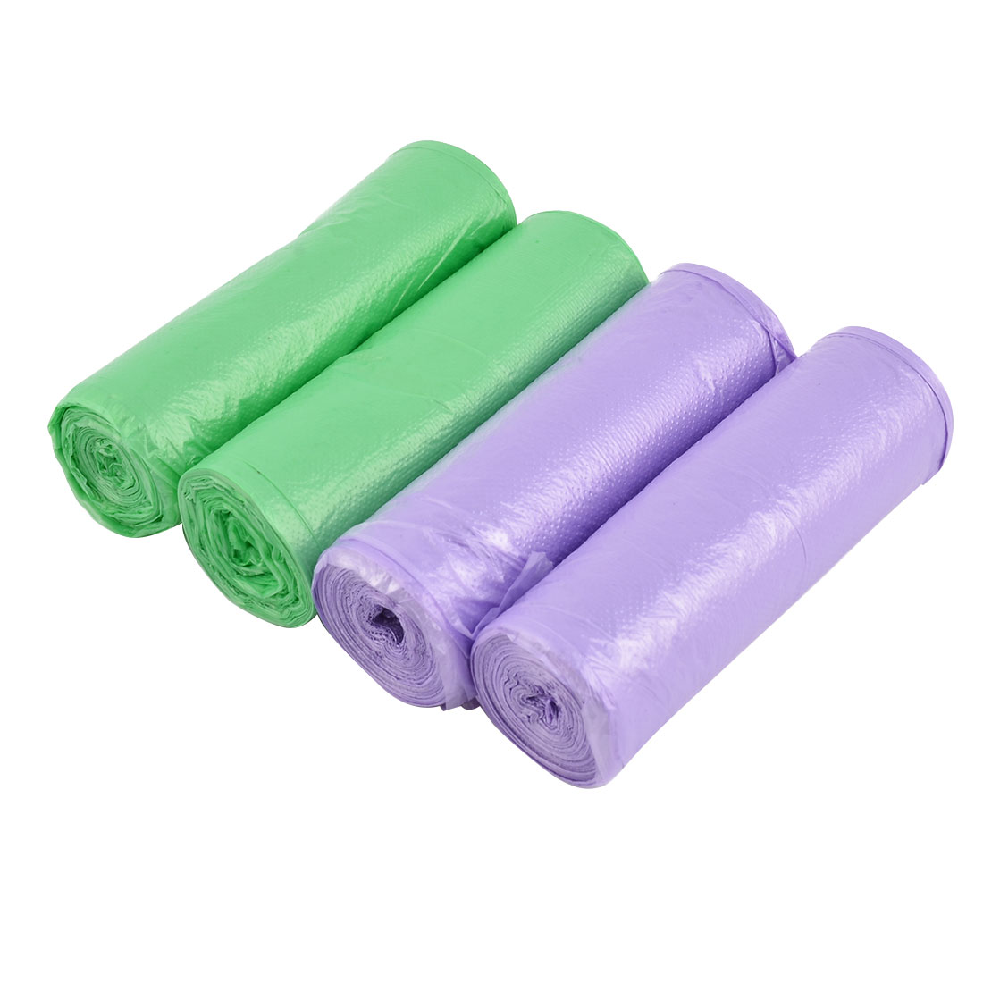 Home Bathroom Polyethylene Garbage Waste Rubbish Storage Container Bag Roll 4 Rolls