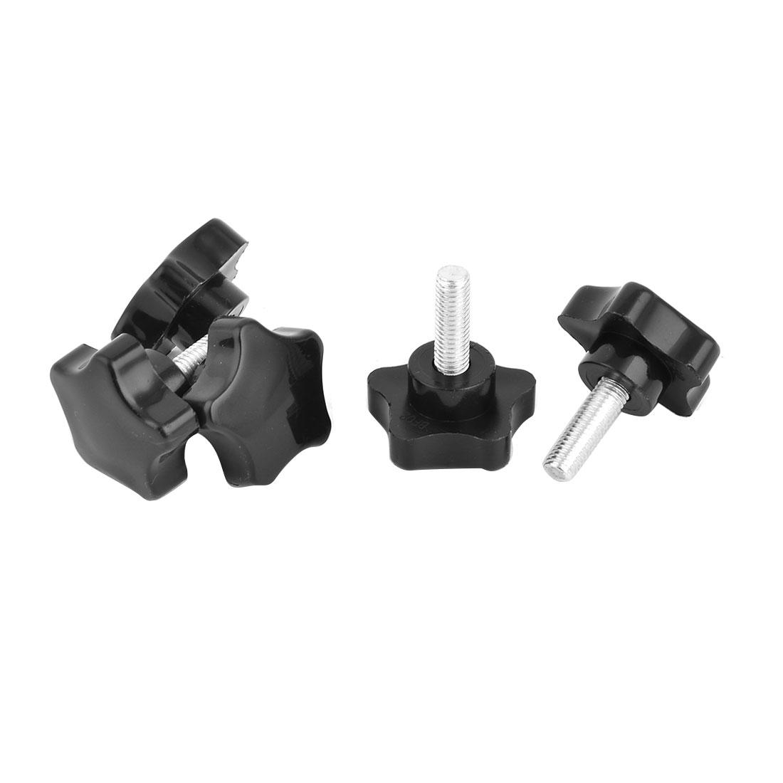 Home Star Design Furniture Adjustable Nonslip Levelling Glide Foot Black 5 Pcs