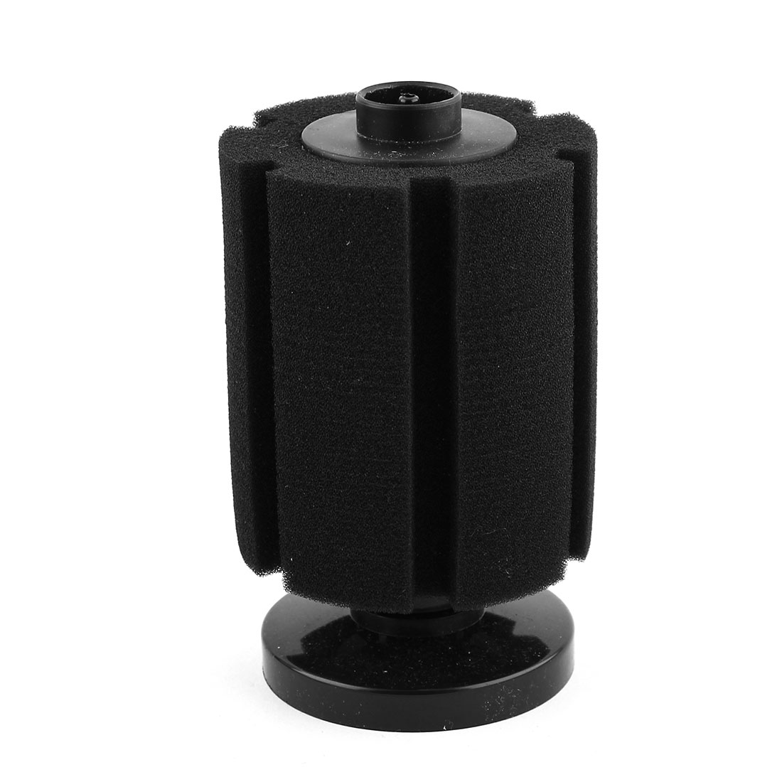 Aquarium Fish Tank Sponge Cylinder Shaped Biochemical Water Filtration Filter Black