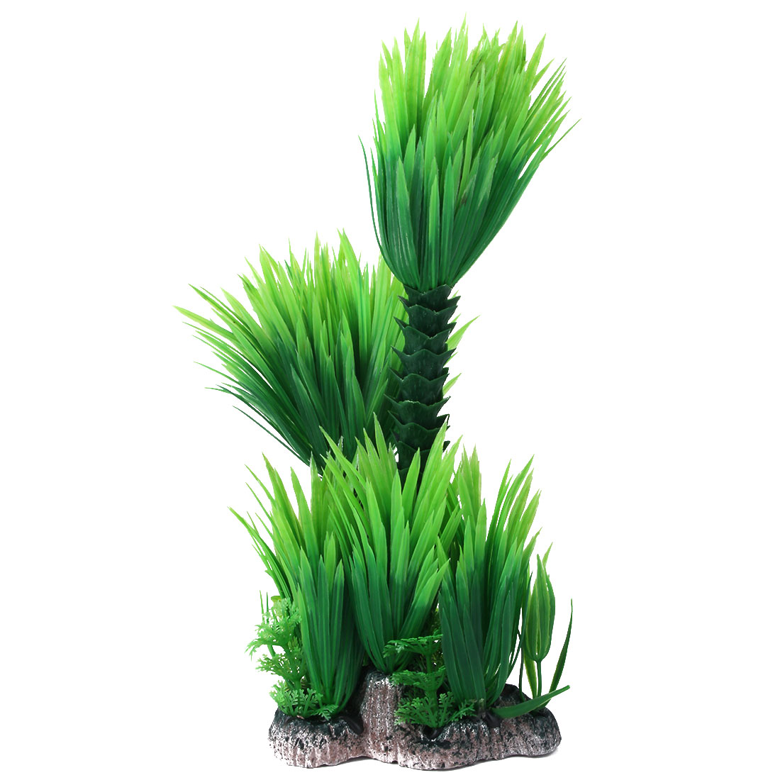 Home Office Aquarium Plastic Emulational Underwater Plant Decor Green 27cm Height