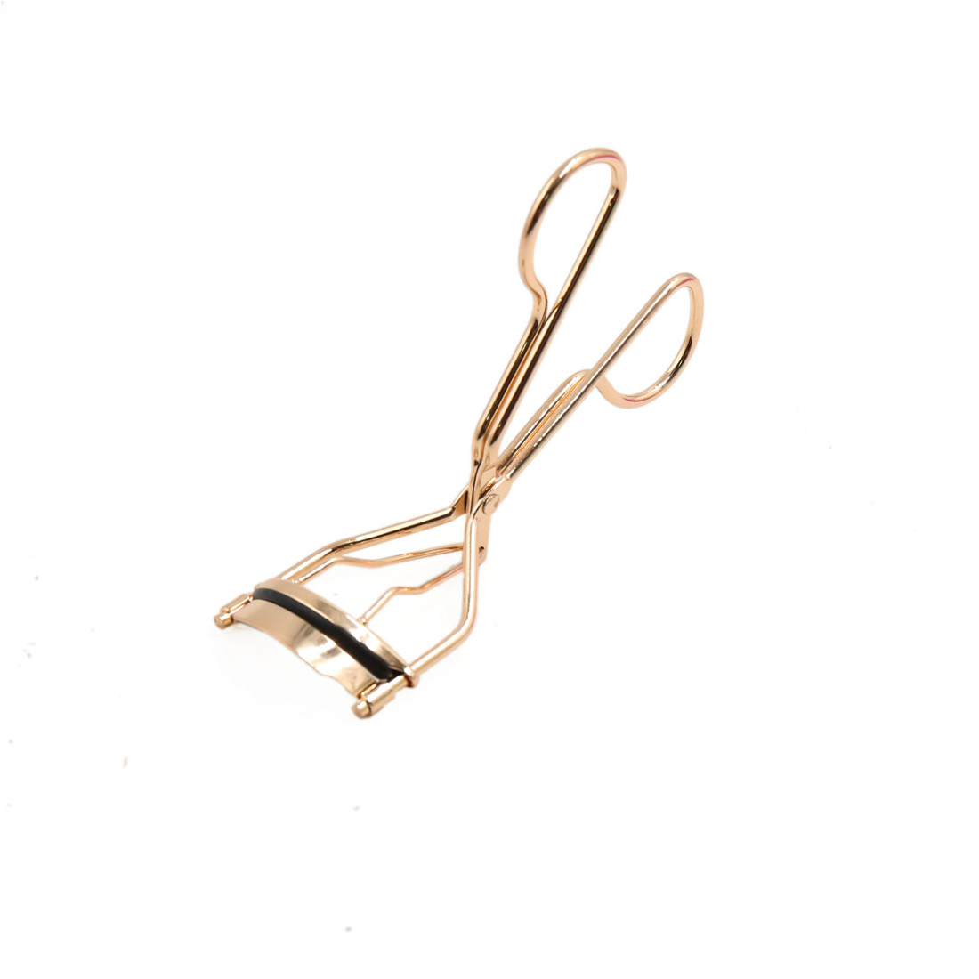 Rose Gold Tone Metal Professional Eyelash Curler Curling Clip Beauty Makeup Tool