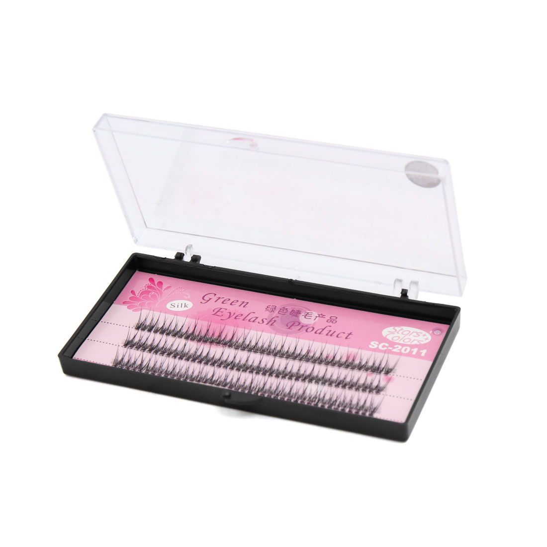 120 Pcs 10mm Long Natural Looking Curl Individual Cluster False Eyelashes Extension Makeup Tool